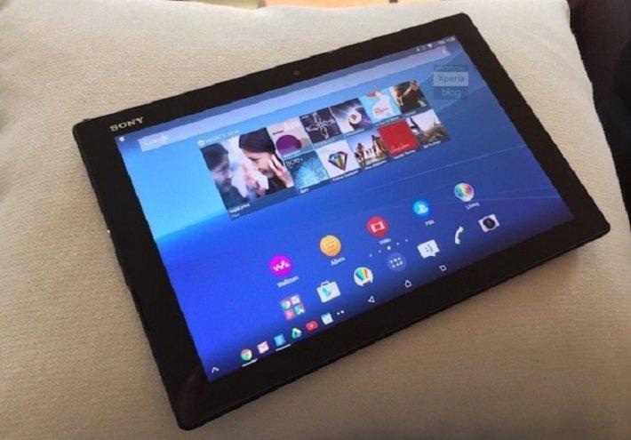 fotos del Xperia Z4 Tablet android 5.0 lollipop